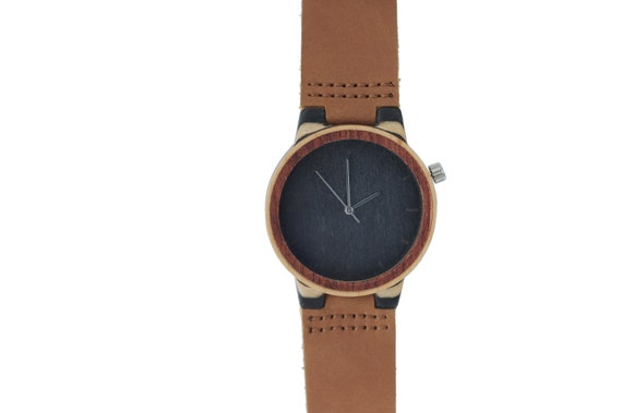 7PLIS watch #116 Recycled SKATEBOARD #madeinfrance blue purple fuchsia brown