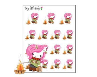 Planner Stickers Unicorn by Campfire