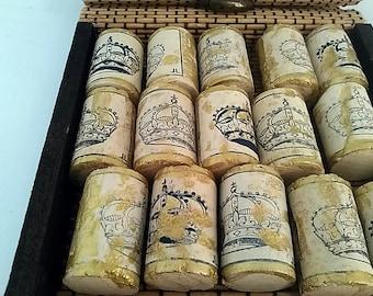 French wine cork