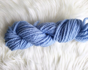 Ice Handspun Corriedale Wool Yarn