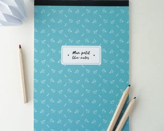Illustrated paper airplanes 14x20cm Notepad