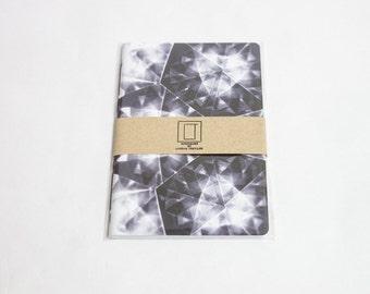 Geometric Digital Pattern Notebook