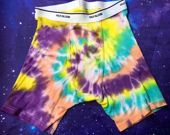 Hand dyed boxer briefs