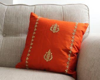 Bright Orange cushion