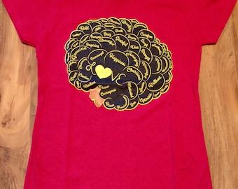 Afro Wordle T-Shirt