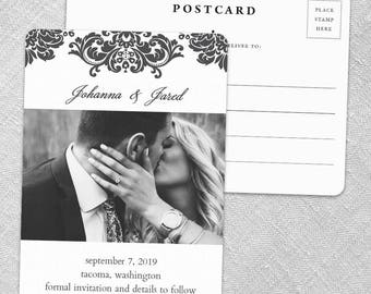 Napa - Postcard - Save-the-Date