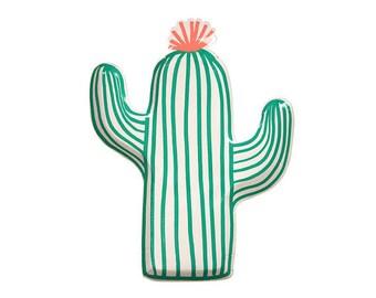 Cactus Plates | Cactus Tableware | Tropical Tableware | Meri Meri | Fiesta Party | Cactus Paper Plates l Summer Party l Cactus Party Decor
