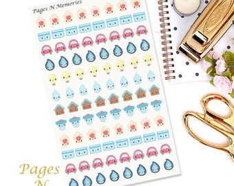 Bill Reminder Planner Stickers/ Finance Stickers/ Erin Condren/ Plum Paper/ Recollections Planners/ Functional Stickers  #013