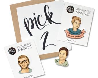 Pick 2 - Any Individual Magnets!
