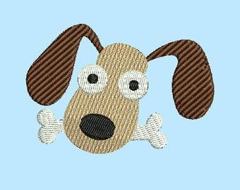 dog with bone *NEW* machine embroidery designs