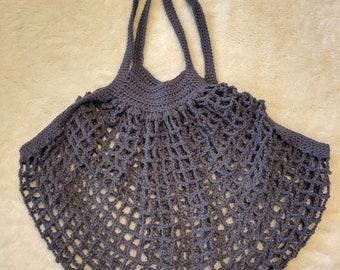 Handmade French Market Bag