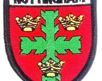 Nottingham Embroidered Patch