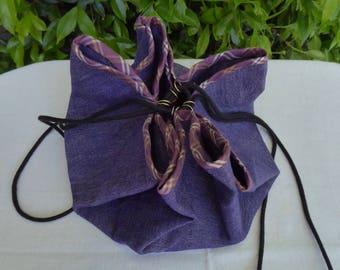 Purple sewing bag, work bag