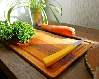 Handmade Wood Serving Platter and Cutting Board by Taking Root