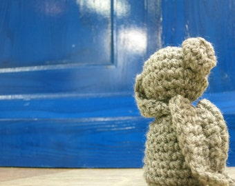 Doctor Who-Inspired Weeping Angel Amigurumi Plush