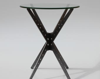 Machovec Metal Industrial Table