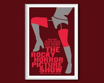 The Rocky Horror Picture Show movie poster in various sizes