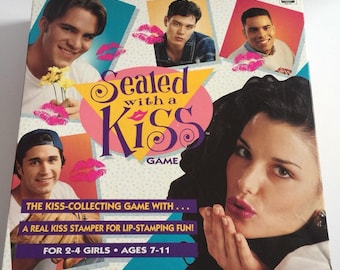 Sealed with a Kiss Board Game by RoseArt