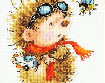 Cross Stitch Kit Pilot art. 18-89