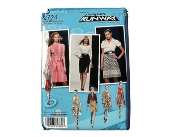 2000 Sewing Pattern - Simplicity 2724 - Secretary Dress UNCUT