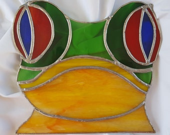 Stained Glass Frog