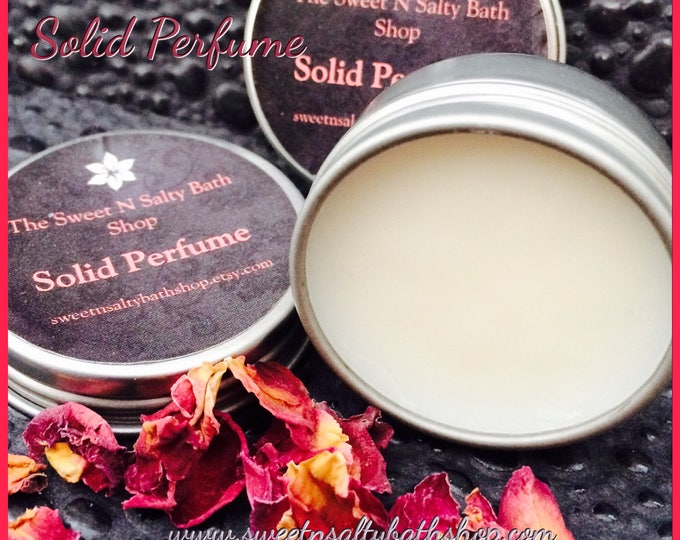 Sensual Black Rose Solid Perfume