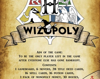 HP Game Instructions