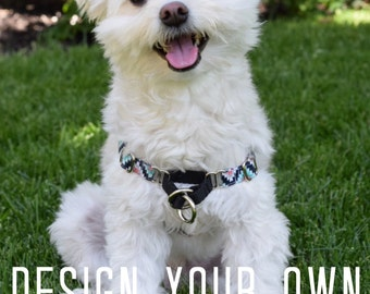 Custom Dog Training Harness, no pull, male, female, adjustable, front clip, durable