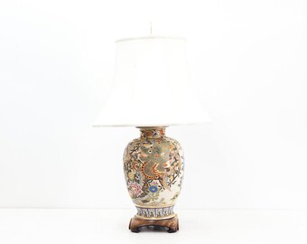 Japanese Morinaga Lamp with Dragon
