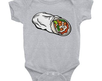 Infant burrito Bodysuit
