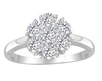 Beautiful Classic Diamond Ring