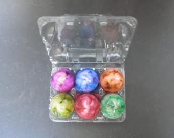Box of 6 Egg Candles, Easter Gifts, Handmade Candles, Decorative Candles