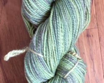 Hand-spun Cormo wool yarn