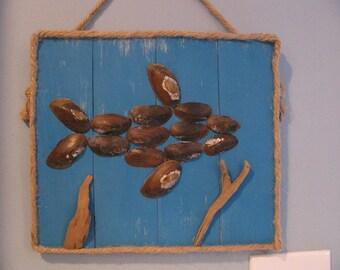 Wall art fish