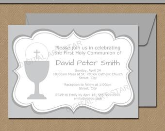 first communion invitation template 1st communion