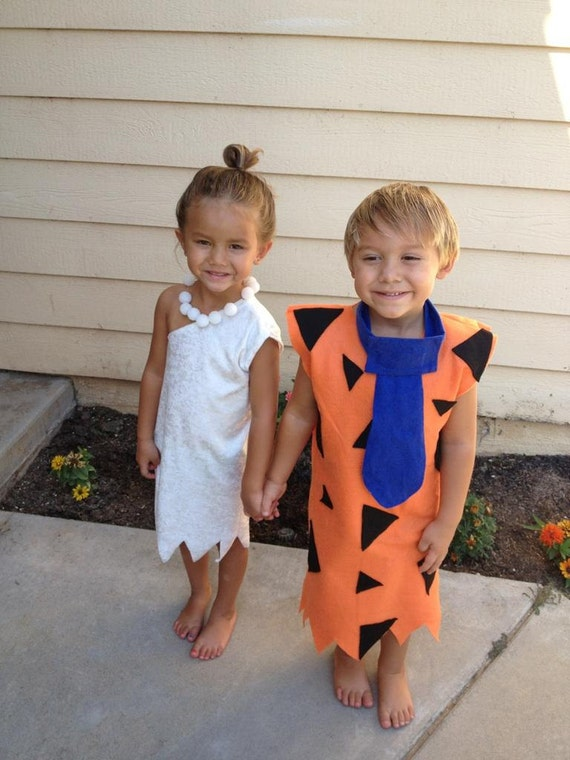 sc 1 st  Etsy & Fred and Wilma costume 2 costumes 12 months to 5t twins or