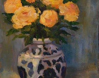 Chinoiserie Roses