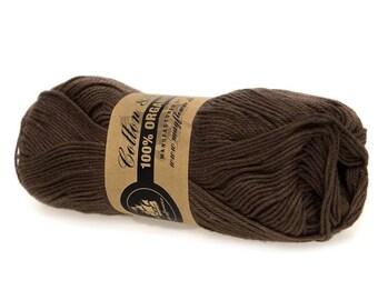 26 Brown Mayflower Organic Cotton 8/4 50g