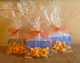 Elmo Goldfish Treat Bag - INSTANT DOWNLOAD - Party Favor - Goodie Bag - Sesame Street - Birthday Party
