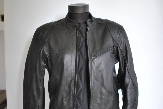 women's M Mad leather Biker leather 94 LINE jacket jacket Max STREET size Vintage AIngPYEw