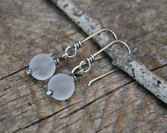 Smokey Crystal Earrings