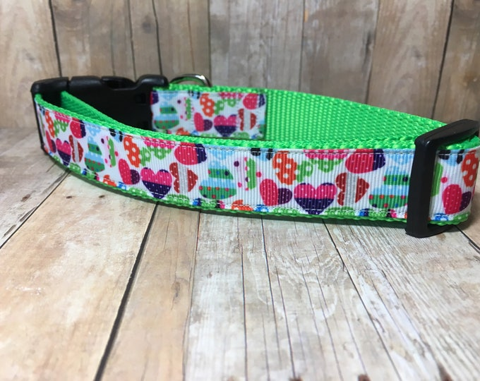 "The Iverly | Designer 1"" Width Dog Collar 