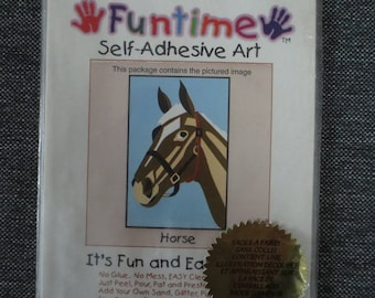 "Painting ""horse"" sand colored do-it-yourself"