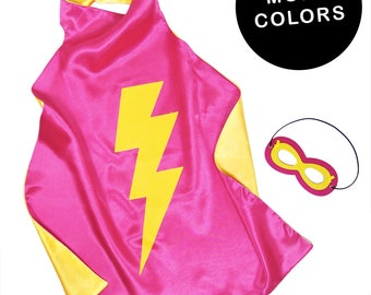 Superhero Cape Kids Double Sided Superhero Capes for Girls