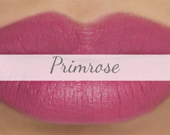 "Sample Vegan Lip & Cheek Cream - ""Primrose"" (rose pink lipstick / cream blush)"