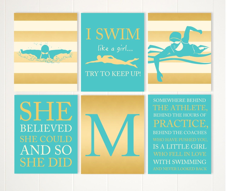 Gift for girl teen girl wall art motivational girls quotes