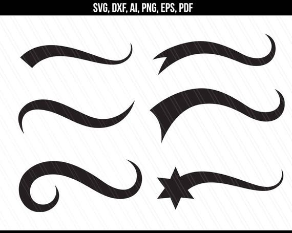 Font Tails Svg Vector Text Tails Font Swoosh Text Swoosh: Text Tails Svg Font Tails Svg Swoosh Svg Text Swoosh Tails