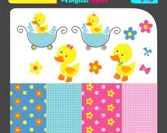 Rubber Duck Clip Art/Digital Clipart/Rubber Duck Clipart/Duck Clip Art/Rubber Duck Clipart/scrapbooking clipart/vector graphics/images/imag