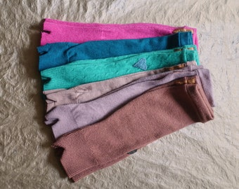 SALE arm warmers cashmere merino wool crafted from fine knit sweaters this is upcycling this is slow fashion this is the future