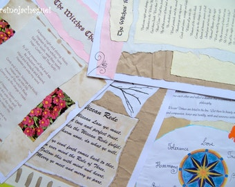 Spell Pages for your Book of Shadows (Digital Download) - REF 7